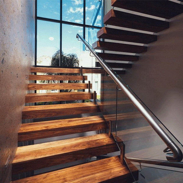 DIY House Installation Prefabricated Floating Staircase