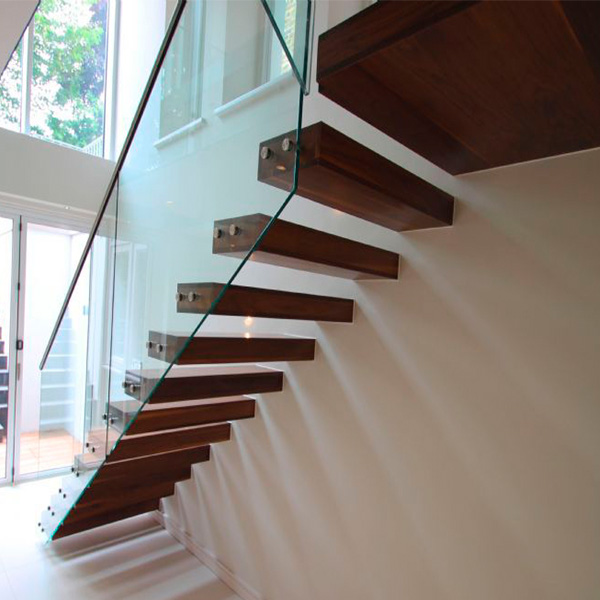 7 Ultra Modern Staircases: Contemporary Hot Residential Floating Staircase Design