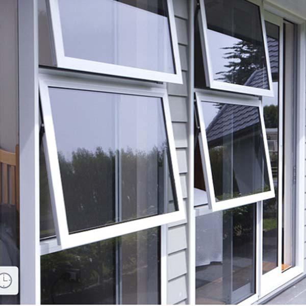 Double Glazing Glass Aluminum Alloy Awning Window