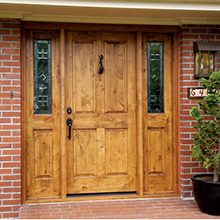 Wholesale entrance wood door