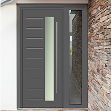 Good quality swing entry wood door