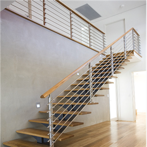 Simple Design Stainless Steel Stair Rod Railing System