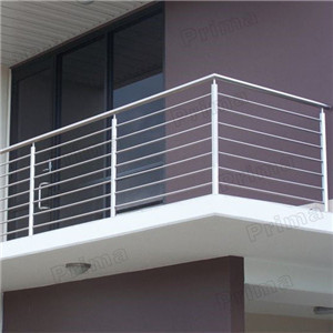 Outdoor Stainless Steel Rod Balustrade Balcony Rod Railing