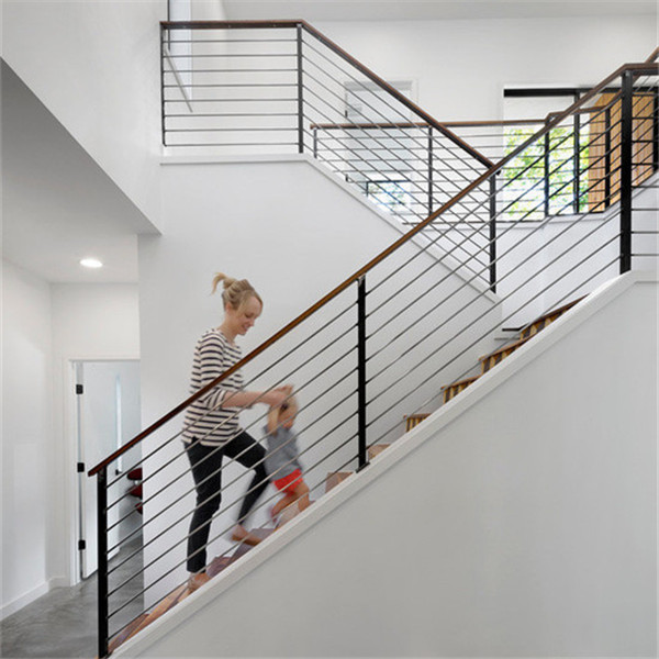 Stainelss Steel Stable Stair Railing With Solid Rod Bar