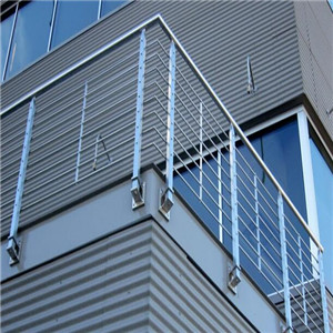 Outdoor durable 316 Stainless Steel Rod Balustrade Design