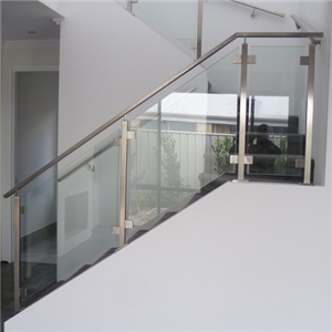 Stainless Steel Glass Fence Post Glass Railing Design