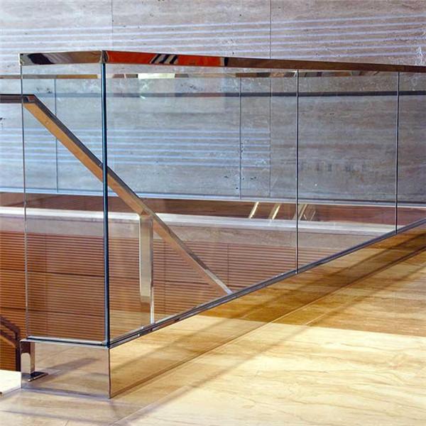 New Design Aluminium U Channel Frameless Glass Railing For ...